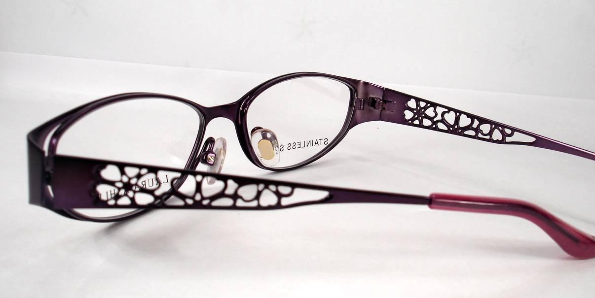 957c0f802c6 Laura Ashley Eyeglasses Reese Purple Blossom and 43 similar items