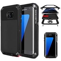 seacosmo Samsung Galaxy S7 Edge Bumper Case, Black (KM) - $6.00