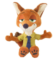 "NEW Disney ZOOTOPIA Nick Wilde Fox 8"" Plush Stuffed Animal Toy New With Tags  - $9.49"
