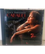 Lucy Thrasher Cabaret CD Autographed by Artist Stephen Sulich Piano Import - $14.09