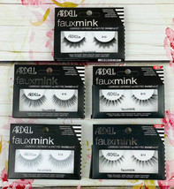 Lot of 5 Ardell Faux Mink Black Lashes Assorted Mix 810, 812, 812, 814 & 814 - $14.22