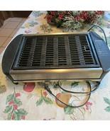 Krups Canyon Deluxe 1500 Watt Indoor Grill #Type 341  Steel teflon grill - $33.55