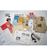 Vintage Lot Seamstress Instruction Booklets Texas A & M 1960's for Colle... - $26.95