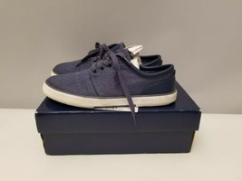 Polo Ralph Lauren Faxon Low Men's Navy Sneaker's 11.5 D with Box - $24.74