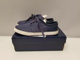 Polo Ralph Lauren Faxon Low Men's Navy Sneaker's 11.5 D with Box - $24.74