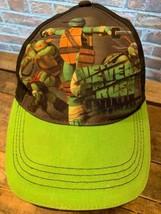 TMNT Teenage Mutant Ninja Turtles Adjustable Kids Cap Hat - $5.93