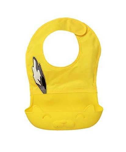 Faddish Waterproof Comfortable Baby Bib/Pinafore For Baby, Yellow
