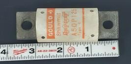 GOULD SHAWMUT A50P125 APM-TRAP SEMICONDUCTOR FUSE 125AMP 500VAC