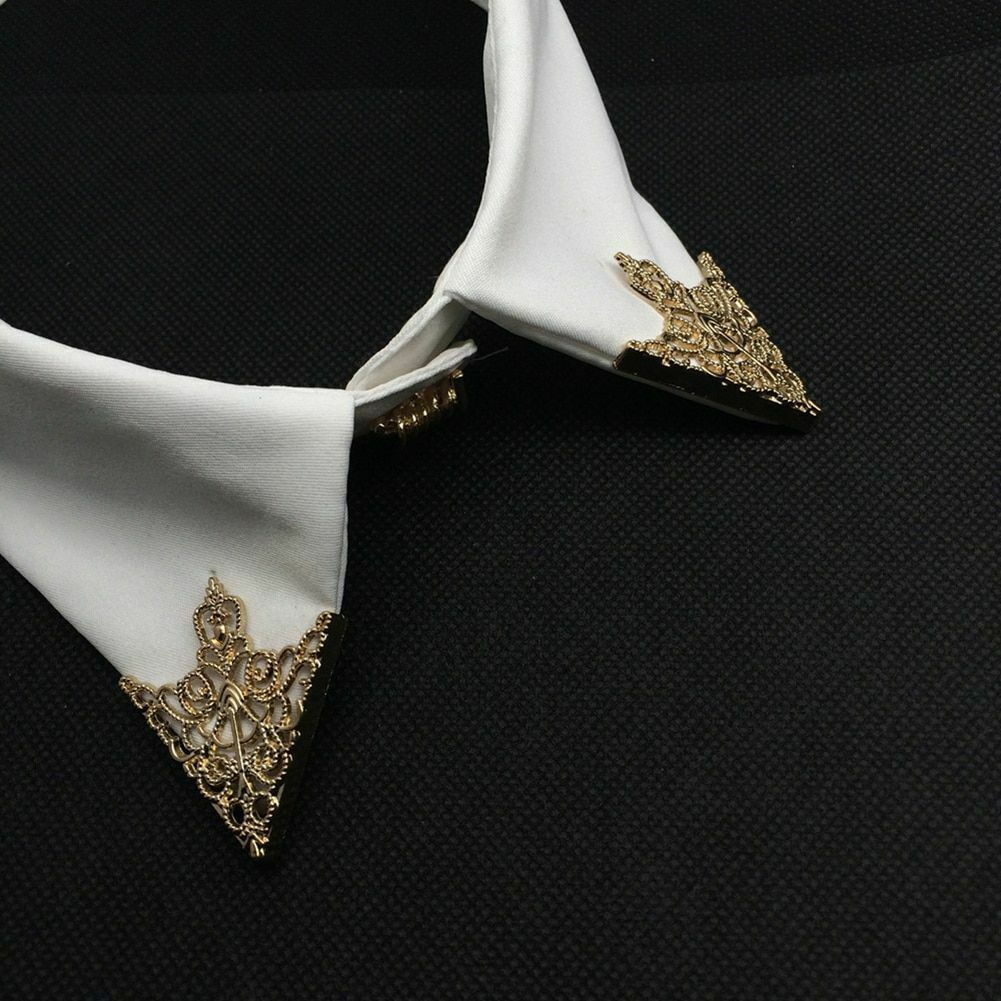 Unisex Brooch Pin Fashion Hollow Geometric Flower Suit Tie Hat Scarf Badges Prom image 9