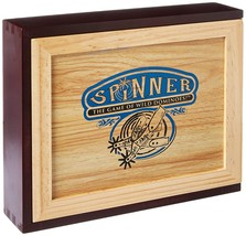 Spinner: The Game of Wild Dominoes Wooden Box - $49.51