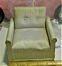 Doll Furniture - White Arm Chair  - $10.00
