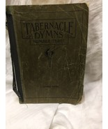 Tabernacle Hymns Number Three Songbook Shaped Note Edition 1931 - $4.95