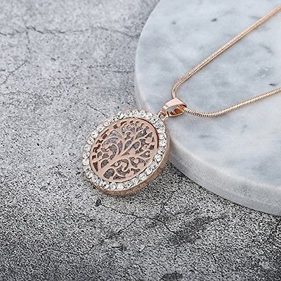Ouran Fashion Women?s Choker Necklace,Celtic Tree Of Life Pendant Necklace CZ