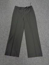 ANN TAYLOR PETITES Black Polyester Blend Straight Leg Dress Pants Sz 10P... - $29.69