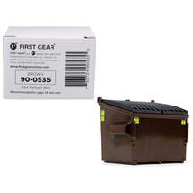 Refuse Trash Bin Brown 1/34 Diecast Model by First Gear 90-0535 - $19.43
