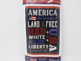 America The Beautiful Land of the Free Garden Flag made by WinCraft - $16.99