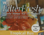 Filter Fresh Scented Air Filter Pads Tropical Bay Qty 1