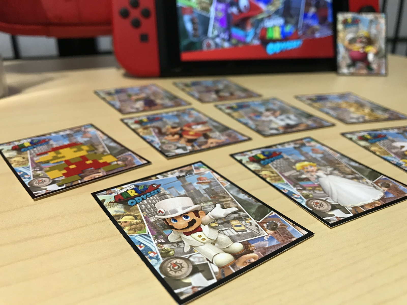 photograph regarding Printable Amiibo Cards called Mini Tremendous Mario Odyssey Amiibo Playing cards Comprehensive and 50 identical products and solutions