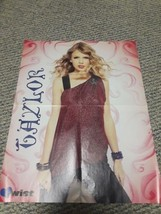 Taylor Swift/Taylor Lautner Double Sided Twist Magazine 16''x20'' Poster - $8.90