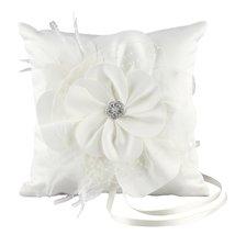 Ivy Lane Design Somerset Collection Ring Pillow, Ivory - $1.009,30 MXN