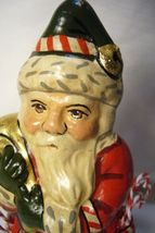Vaillancourt Candy Cane Santa with Gold Bag personally signed by Judi! image 3