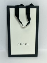 "GUCCI White Ivory Shopping Tote Bag 11.5 x 7 x 4.25"" Gift Bag - $14.53"