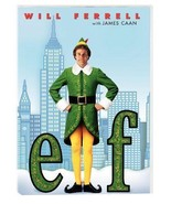 ELF DVD WILL FERRELL - $6.43