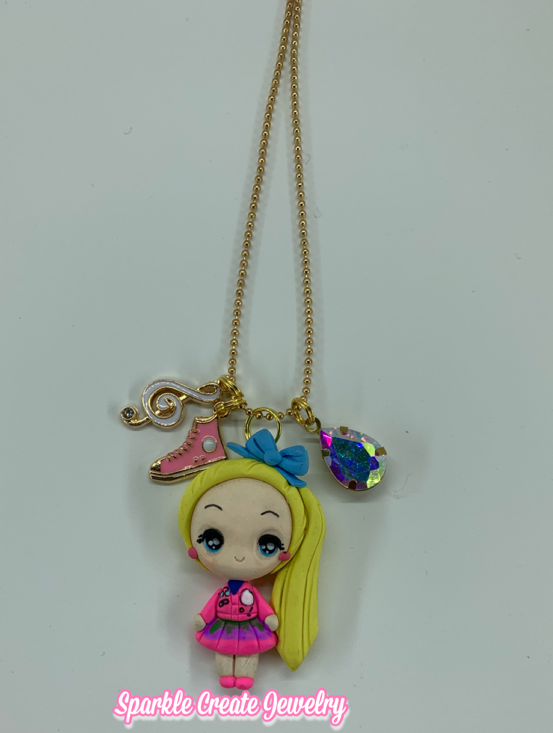 Jojo Siwa Clay Charm Necklace