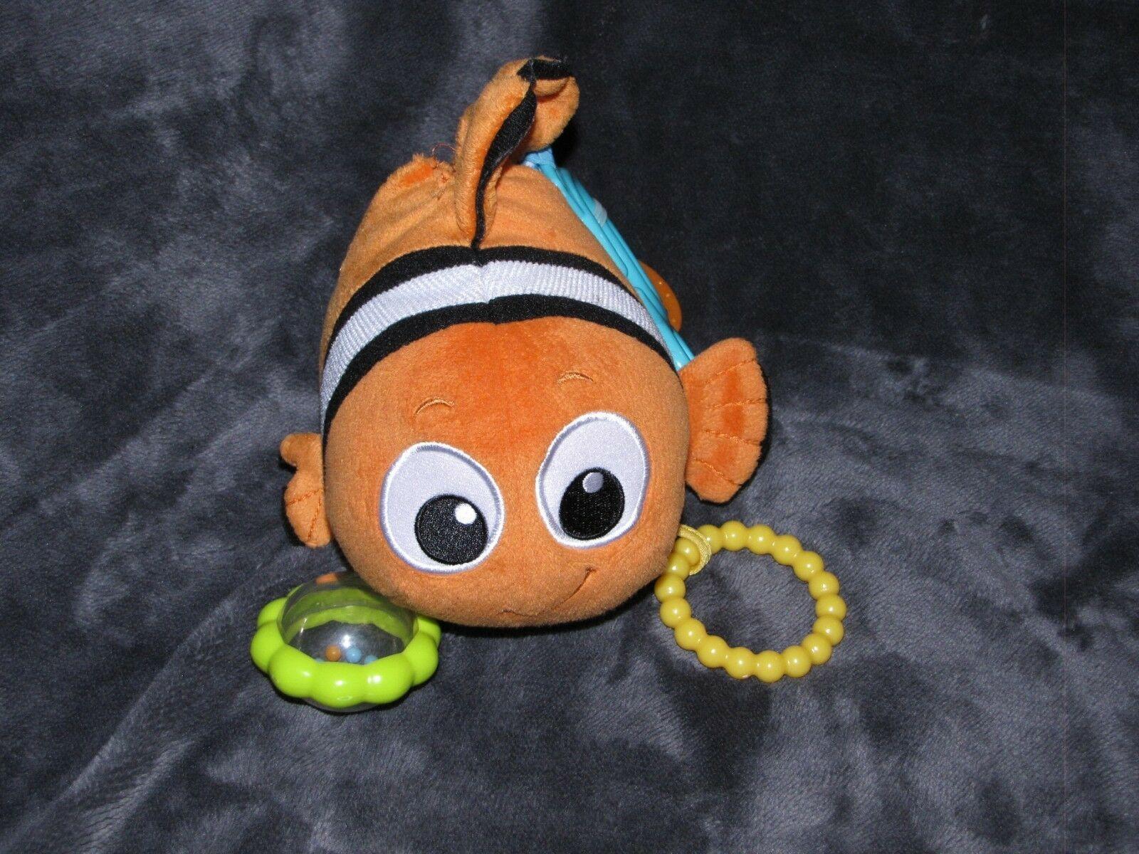 KIDS PREFERRED DISNEY BABY FINDING NEMO ORANGE CLOWNFISH CLOWN FISH RING TOY image 2