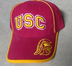 Officially License NCAA USC Trojans Football Hat Cap One Size New - £14.46 GBP