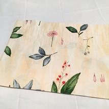 "Croscill Botanica Gazebo Valance Yellow Flowers 94"" - $37.99"