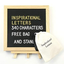 Felt Letter Board 10 x 10 inches,Anyasun Changeable Letter Boards Includ... - $22.83