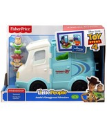 Fisher-Price Little People Disney Toy Story 4 Jessie's Buzz Campground A... - $34.99