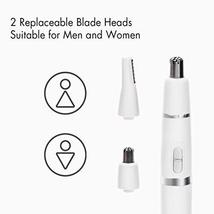 Nose Hair Trimmer for Men Women Painless Electric Ear and Nose Hair Trimmer for  image 6