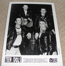 Teen Idols, glossy photo (screeching weasel fat wreck nofx pop punk) - $6.00