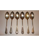Lot of 6 OVB OUR VERY BEST Heather 1913 Pattern Large spoons 8-1/4 inch - $9.89