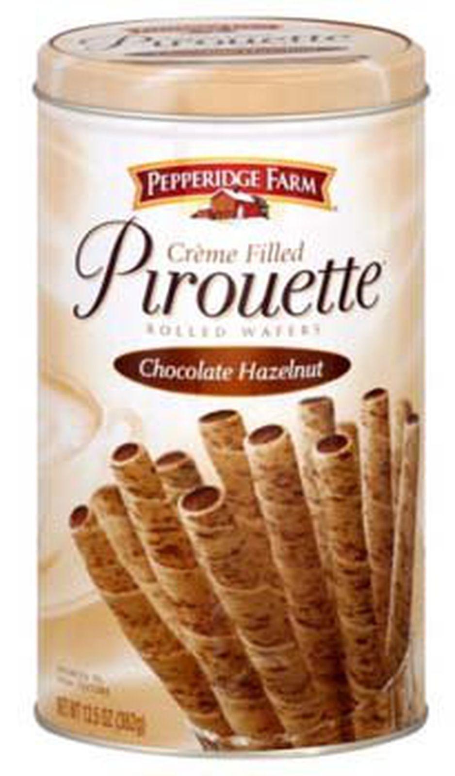 Pepperidge Farm Crème Filled Pirouette Rolled Wafers, Chocolate Hazelnut, 13.... - $50.00