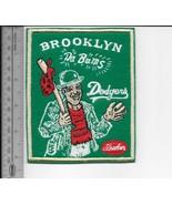 Beer Baseball Brooklyn Dodgers & Schaefer Beer National League Promo Patch - $10.99