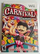 Carnival Games (Nintendo Wii, 2007) - Complete - Tested - - $5.01