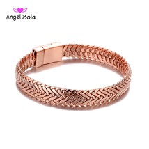 Gold and Rose Gold Fashion Punk Buddha Bracelet for Women DIY Bangles Charms Bra - $20.00