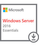 Microsoft Windows Server 2016 Essentials Version Full Retail 64 bit - $27.54