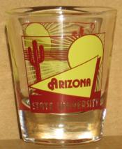 Arizona State University shot glass new vintage collectible Sun Devils c... - $6.99