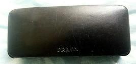 PRADA Eyeglass Hard Black Case,Sunglasses Protective Velvet Lined Hardshell - $13.85
