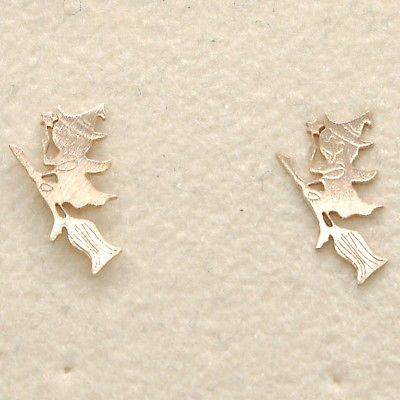 EARRINGS SILVER 925 LAMINATED GOLD PINK LE FAVOLE WITH WITCH SAMBAIAH