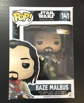 Star Wars Rogue One Baze Malbus POP! Vinyl Figure #141 - $7.76