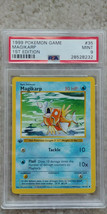 Pokemon Magikarp 35/102 1st Edition Base Set PSA 9 1999 Pokemon Game Shadowless - $69.50