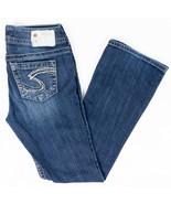 Silver Suki Bootcut Womens Jeans Dark Wash Faded Size 26/30 - $22.90