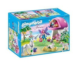 PLAYMOBIL Fairies with Toadstool House - $59.47