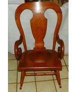 Maple Tell City Farmhouse Rocker / Rocking Chair  (R209) - $499.00