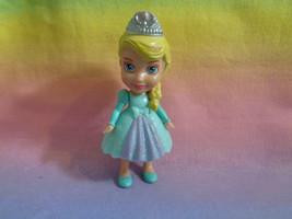 Disney Frozen Mini Toddler Queen Elsa Poseable Figure - as is - scraped - $2.55